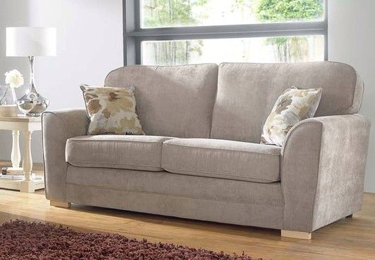 Swell Show More Information On Keira 3 Seater Sofa Taupe Fabric Machost Co Dining Chair Design Ideas Machostcouk