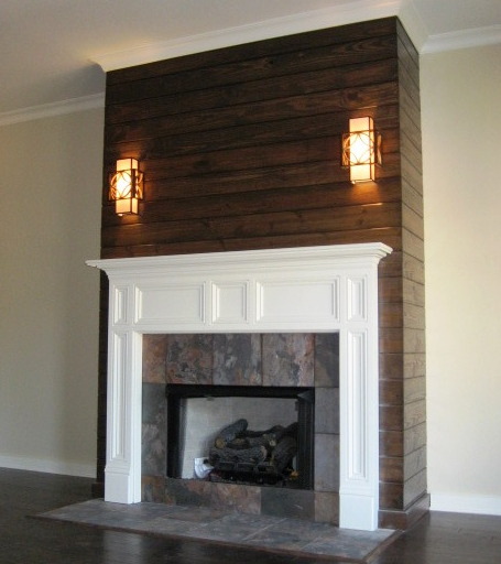 The Augusta Mantel | Mission Style Fireplace Mantels