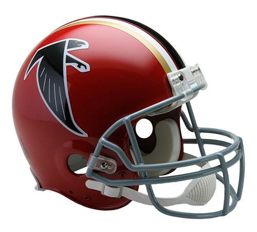 reputable site 4a6ec 27a17 Atlanta Falcons 1966-1969 Throwback Riddell Authentic Pro ...