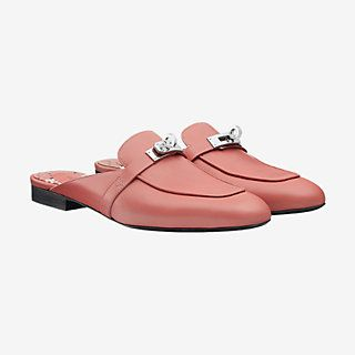 oz mule  hermes shoes mules shoes flat leather slippers