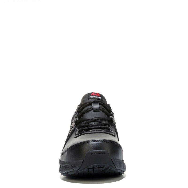 c94fcad4b2f1 Reebok Work Men s Guide Medium Wide Steel Toe Slip Resistant Sneakers  (Black Leather)