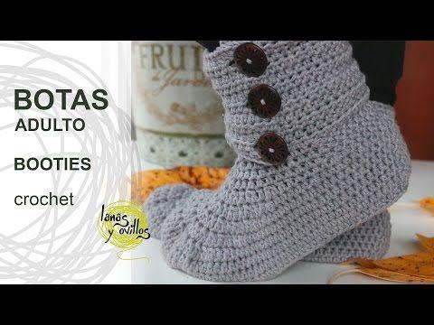 Crochet Glama\'s 2 in 1 Bootie Slipper Tutorial, Super Easy For ...