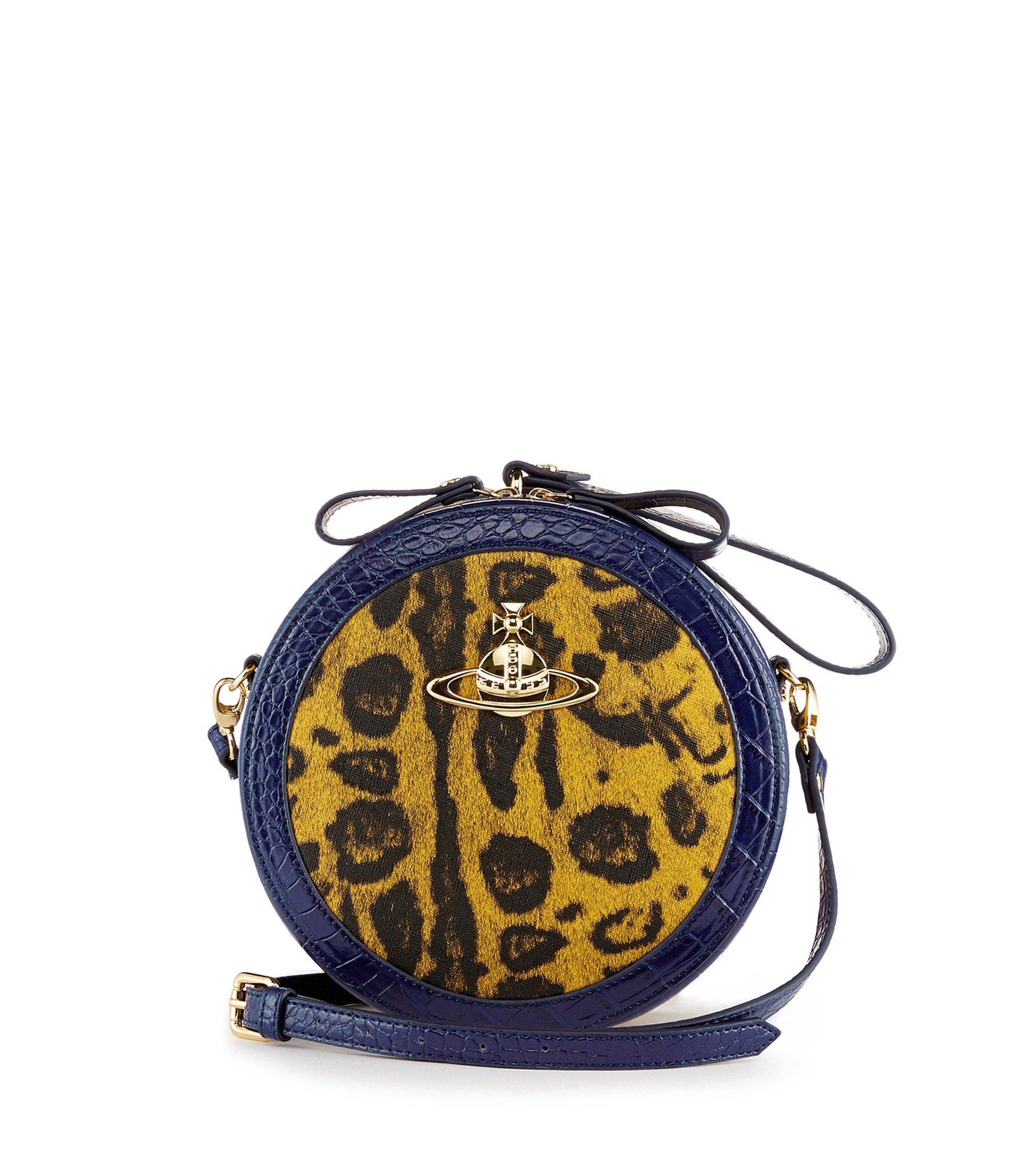 Jungle Leopard Bag 6904 Yellow