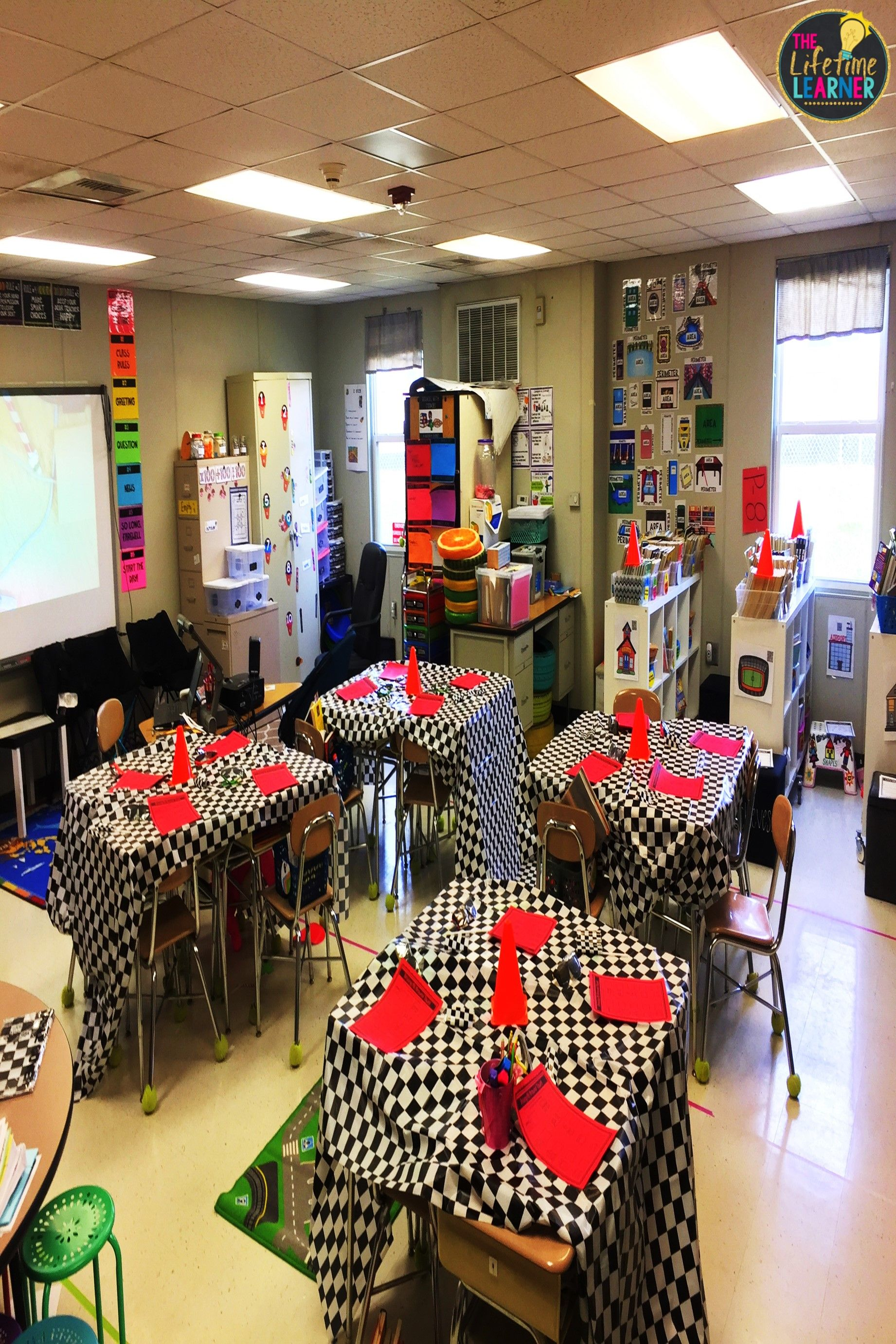 Check Out This Fun Racecar Classroom Transformation For