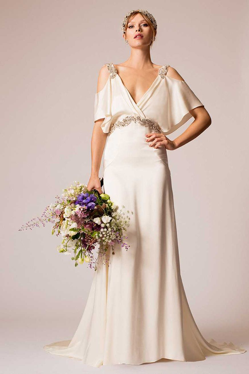 Wedding ideas by colour gold wedding dresses city chic chwv