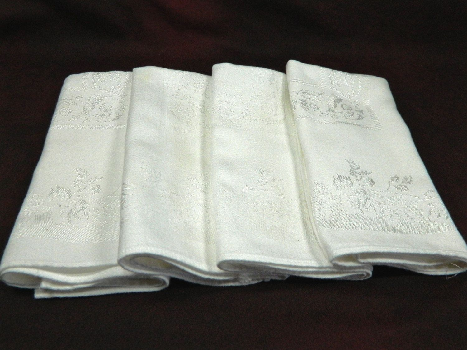 how to wash linen napkins