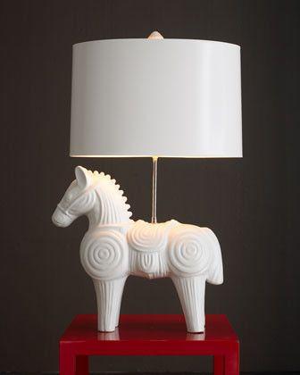 Jonathan adler trojan horse lamp traditional table lamps jonathan adler trojan horse lamp traditional table lamps horchow aloadofball Images