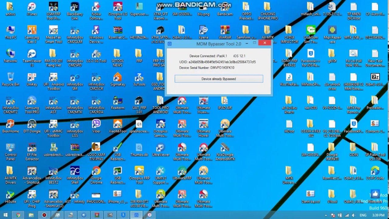 Apple mdm bypass server iphone ipad solution free tool