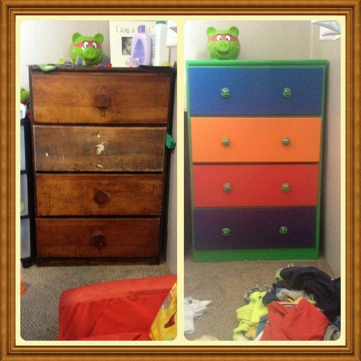 Kids Bedroom, Ninja Turtle