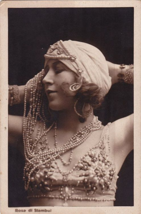 Rosa Di Stambul..Exotic Lady circa 1920s