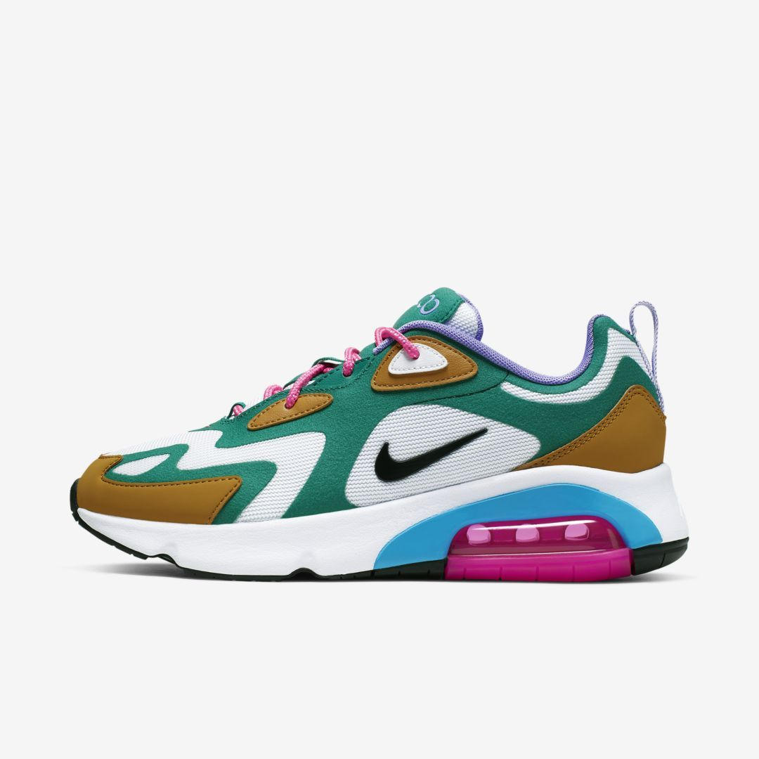 Nike Air Max 200 Women's Shoe (Mystic Green) | Nike air max ...