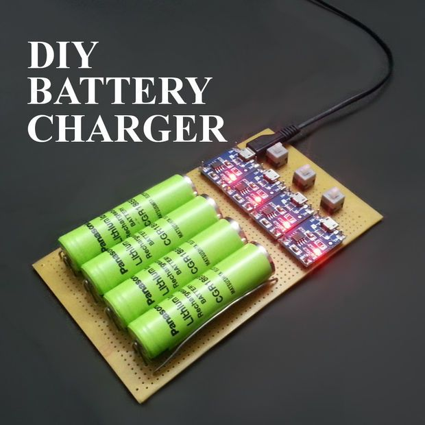 How to Make Battery Charger at Home: 6 Steps (with Pictures)