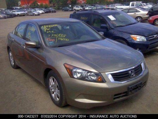 Insurance Auto Auctions Detalles Del Vehiculo Vehiculos Honda