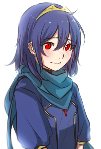 Looks like Lucina with red eyes Fire emblem characters