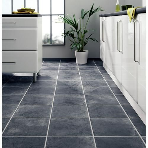 laminate-flooring-tile-effect - like for breakroom and maybe ...