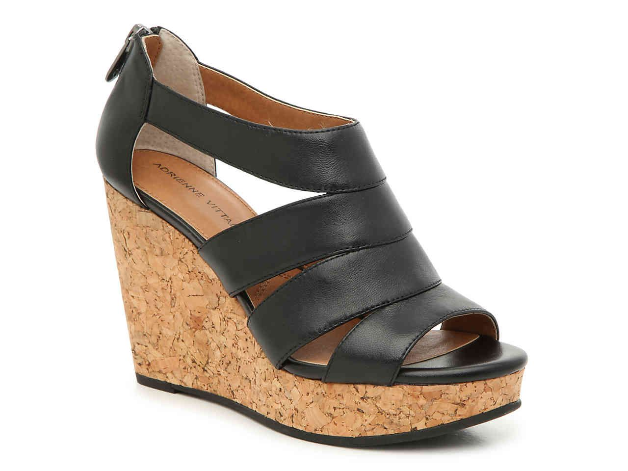 f04bc1c2a0a Adrienne Vittadini Chacka Wedge Sandal Women's Shoes | DSW | for the ...