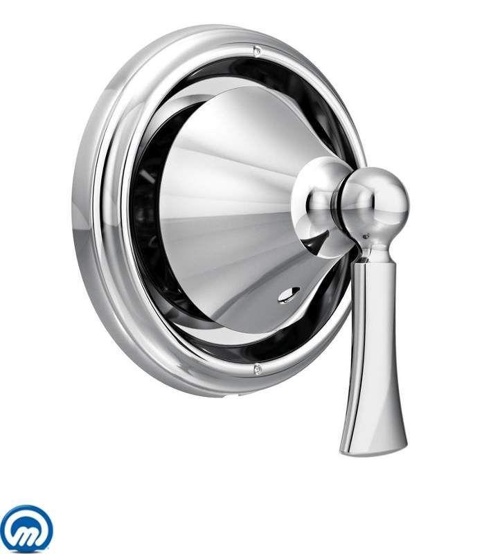 Moen T4511 Wynford 3-Function Diverter Valve Trim (Less Valve) Chrome Showers Diverter Trims Single Handle