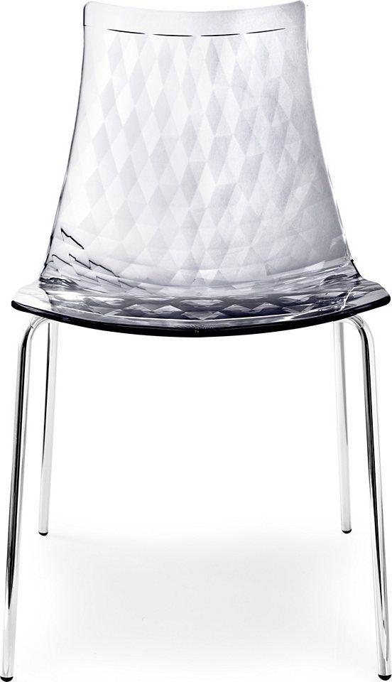 connubia by calligaris Stühle mit Diamanteffekt (2 Stck) Jetzt - stühle für die küche