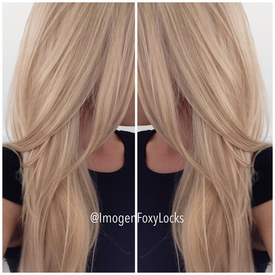 New hair colour Latte Blonde Had some lowlights added What do you