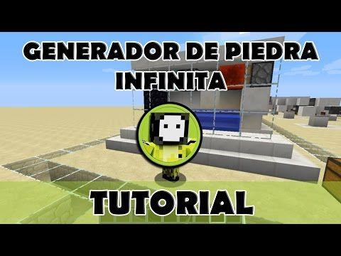 Tutorial Minecraft Generador De Piedra Minecraft Granja Minecraft Generadores