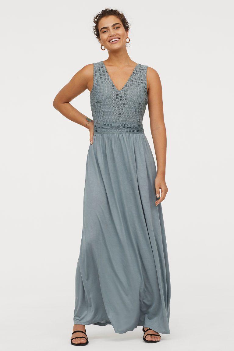 Ongebruikt Maxi-jurk met V-hals - Lange jurken, Jurken en Maxis TE-04