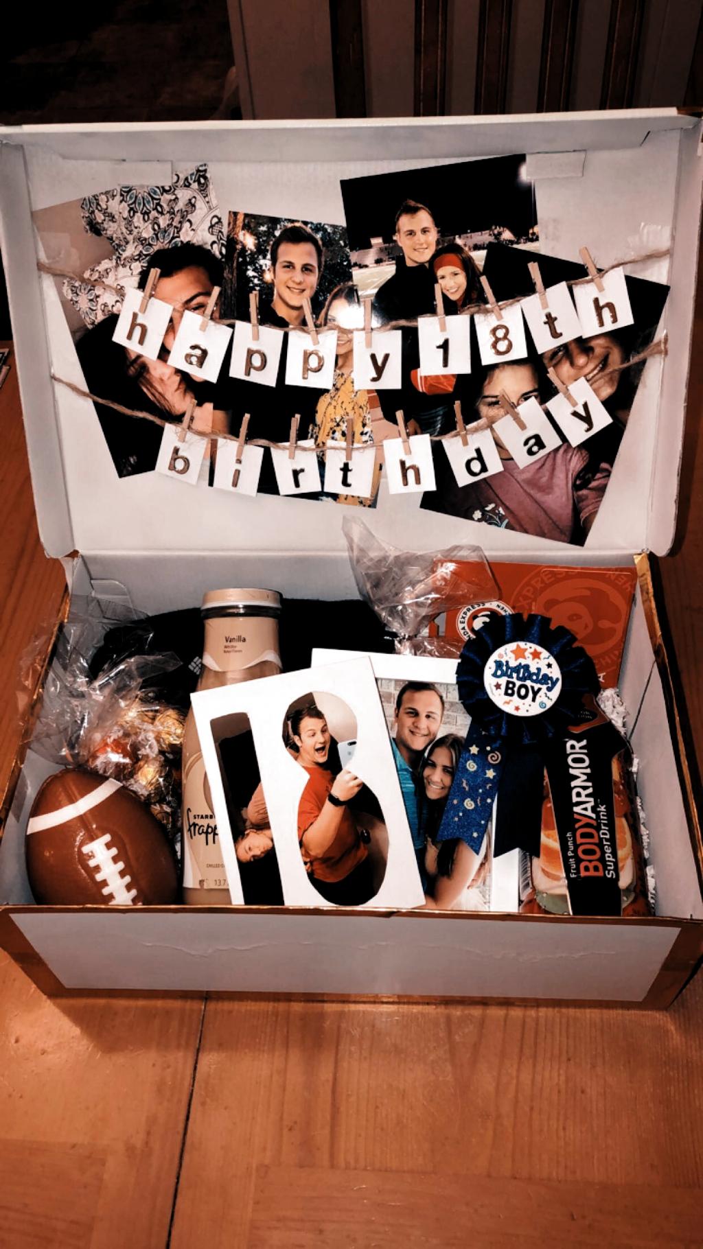creato questa scatola di compleanno per il compleanno del mio