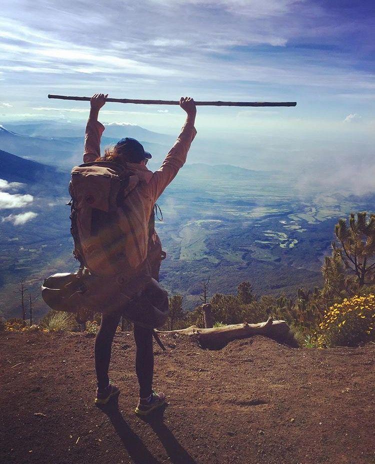 Beyond the #Girlbossmoment: Teresa Lee stops apologizing & climbs a volcano!