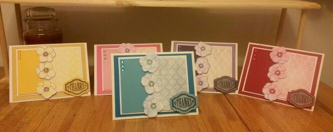 Tonal thank you cards. Mypassionforcrafting@yahoo.com