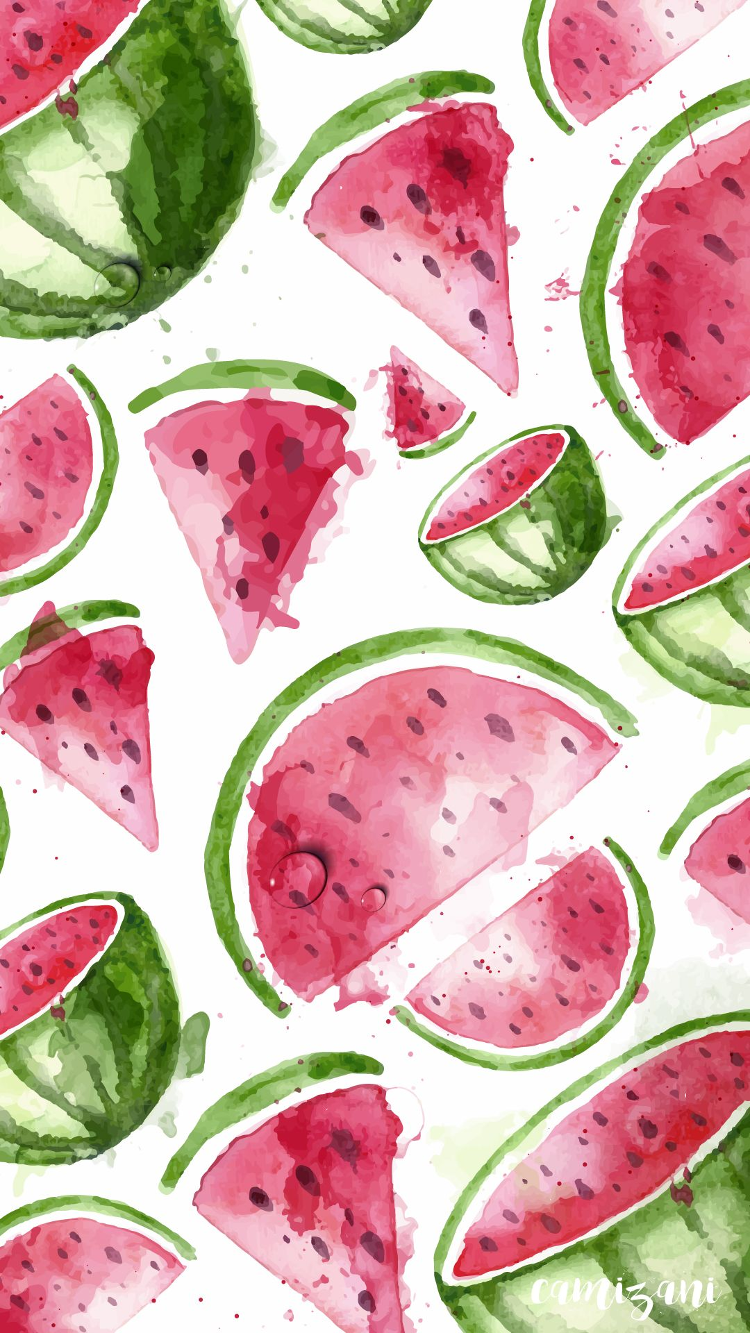 Camizani Watermelon Iphone Wallpaper Watermelon Wallpaper Summer Wallpaper Iphone Wallpaper