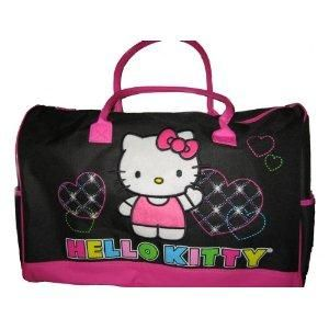 I found  Hello Kitty Large Duffle Bag  on Wish, check it out ... 3b6fe45d9b