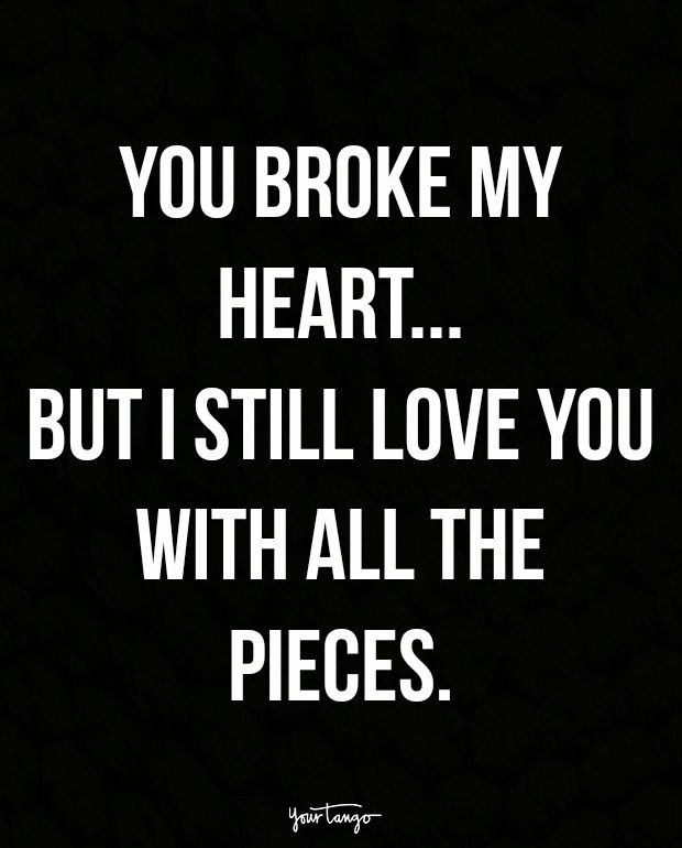 Images Of Broken Heart With Qoutes