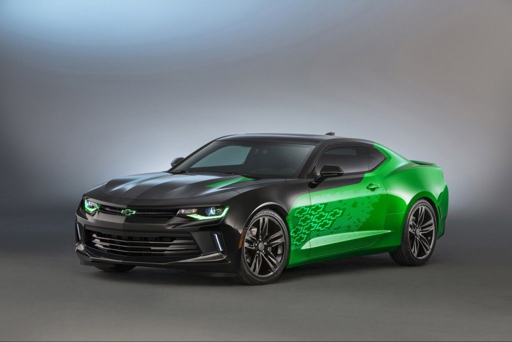 Krypton Green Coming For 2017 Chevy Camaro Zl1 Gm Authority