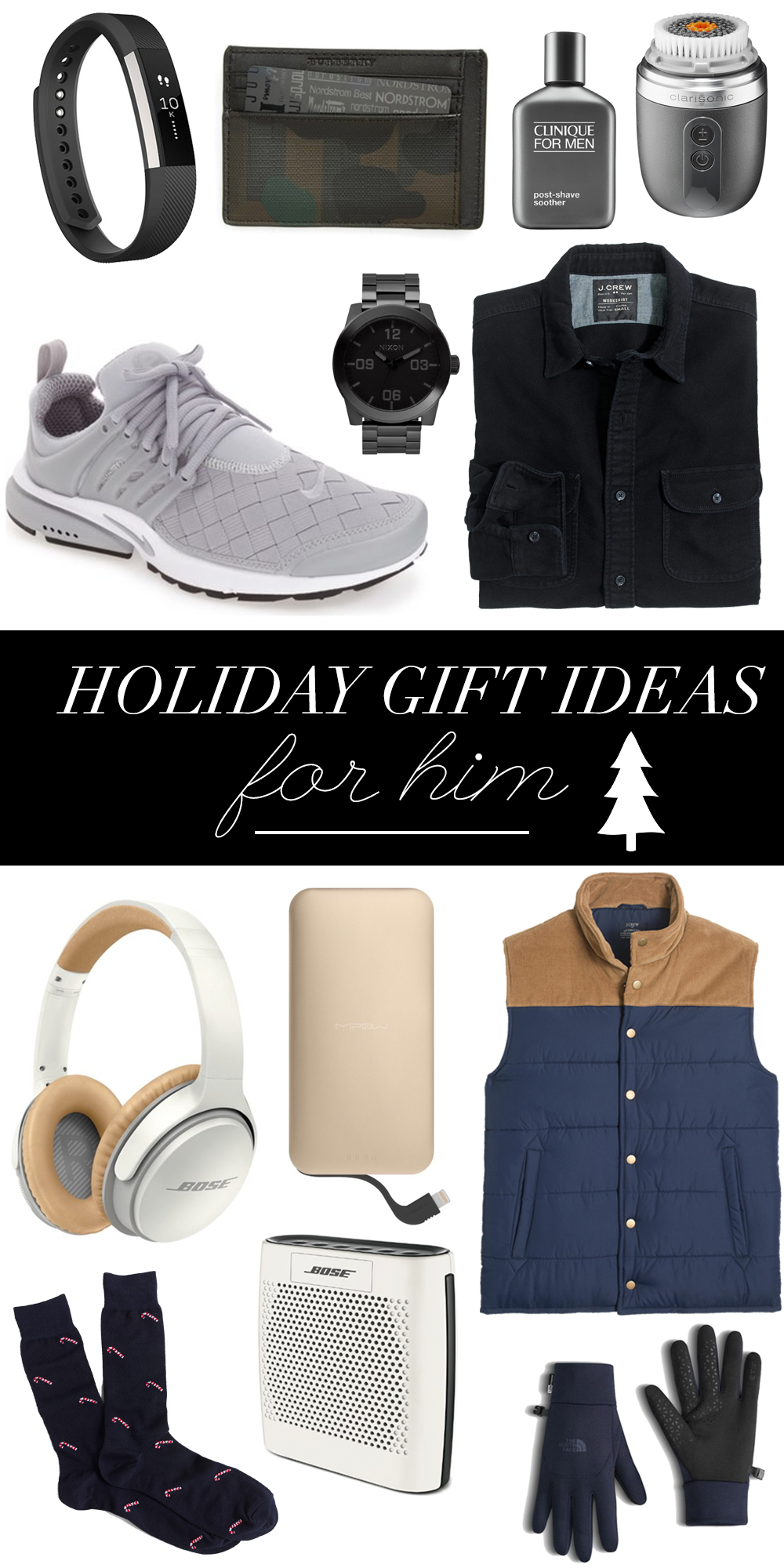 Holiday Gifts Ideas For Him   Christmas Gifts For Guys ...