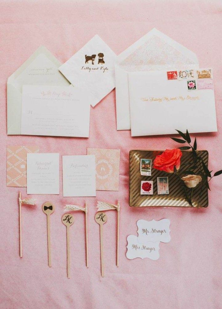 Great wedding invitation with vintage style Visit