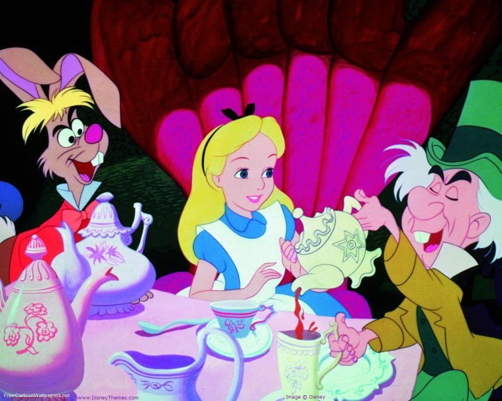 alice cartoons Wallpapers Alice In Wonderland Cartoons