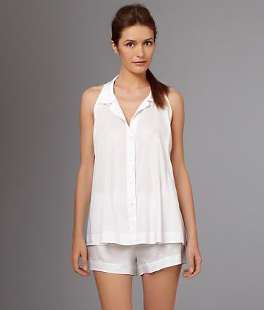 Donna Karan Cotton Sateen Woven Pajama Set on shopstyle.com