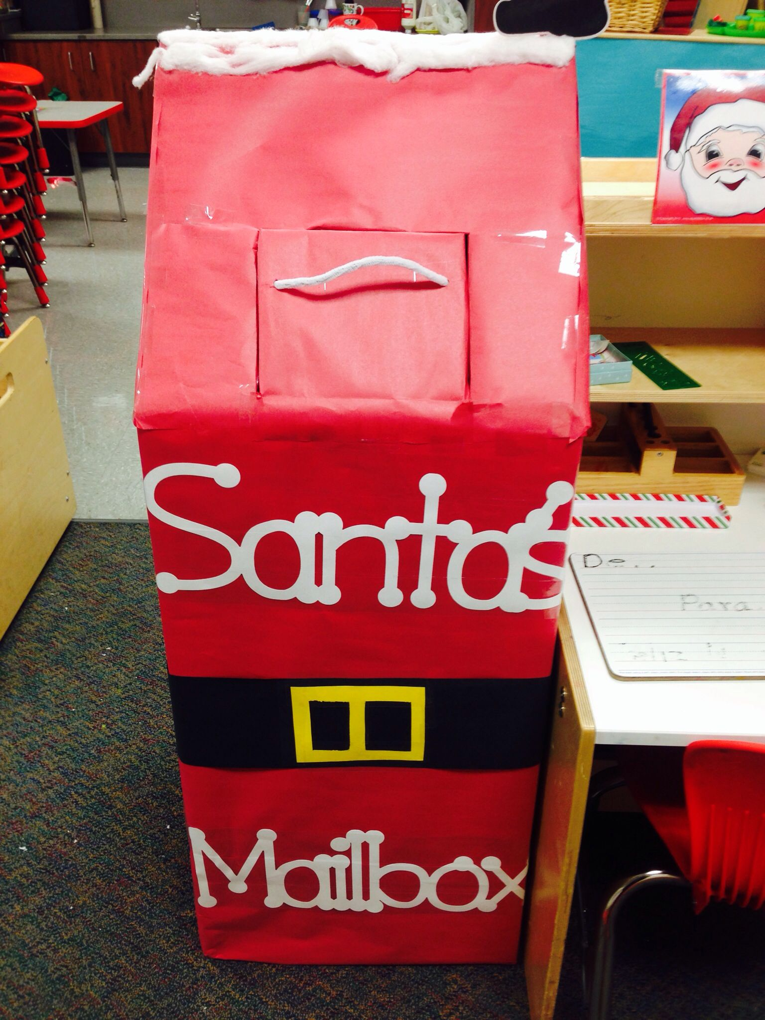 Letters To Santa Mailbox Office Christmas Decorations Office