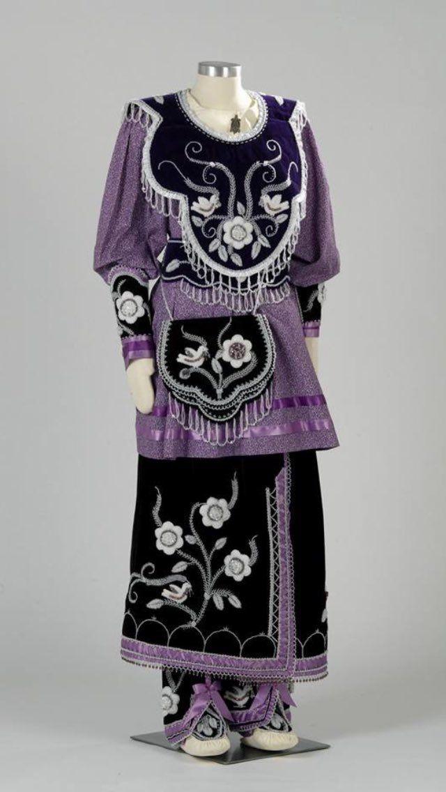 Iroquois Powwow Regalia Native American Dress Native