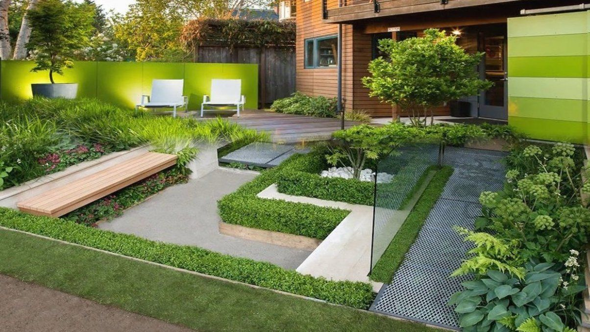 Beautiful Modern Garden Design Ideas - Room Ideas - YouTube Lovely