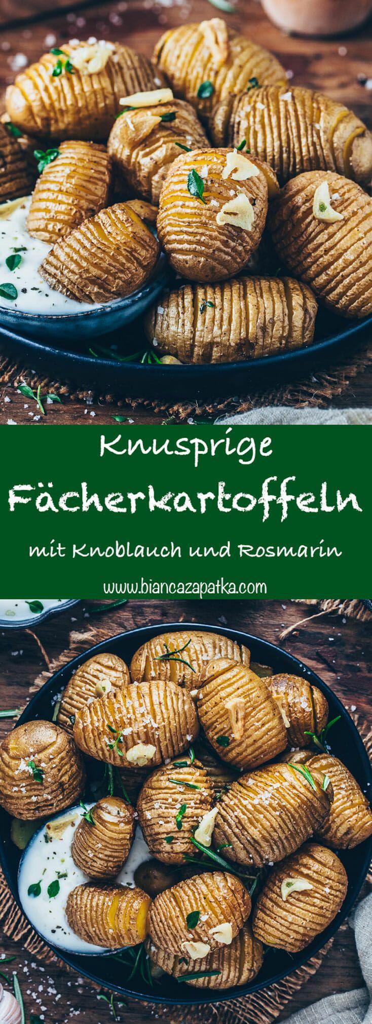 Photo of Fächerkartoffeln mit Knoblauch und Rosmarin – Bianca Zapatka | Rezepte