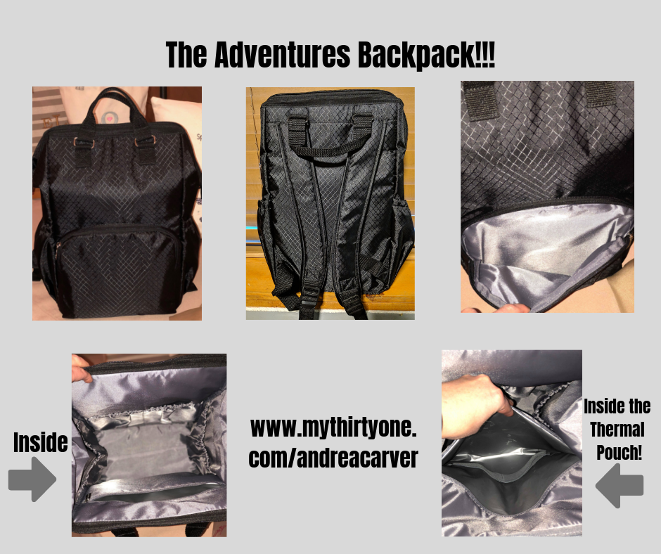 Adventures Backpack Stepping Stones Andrea S New