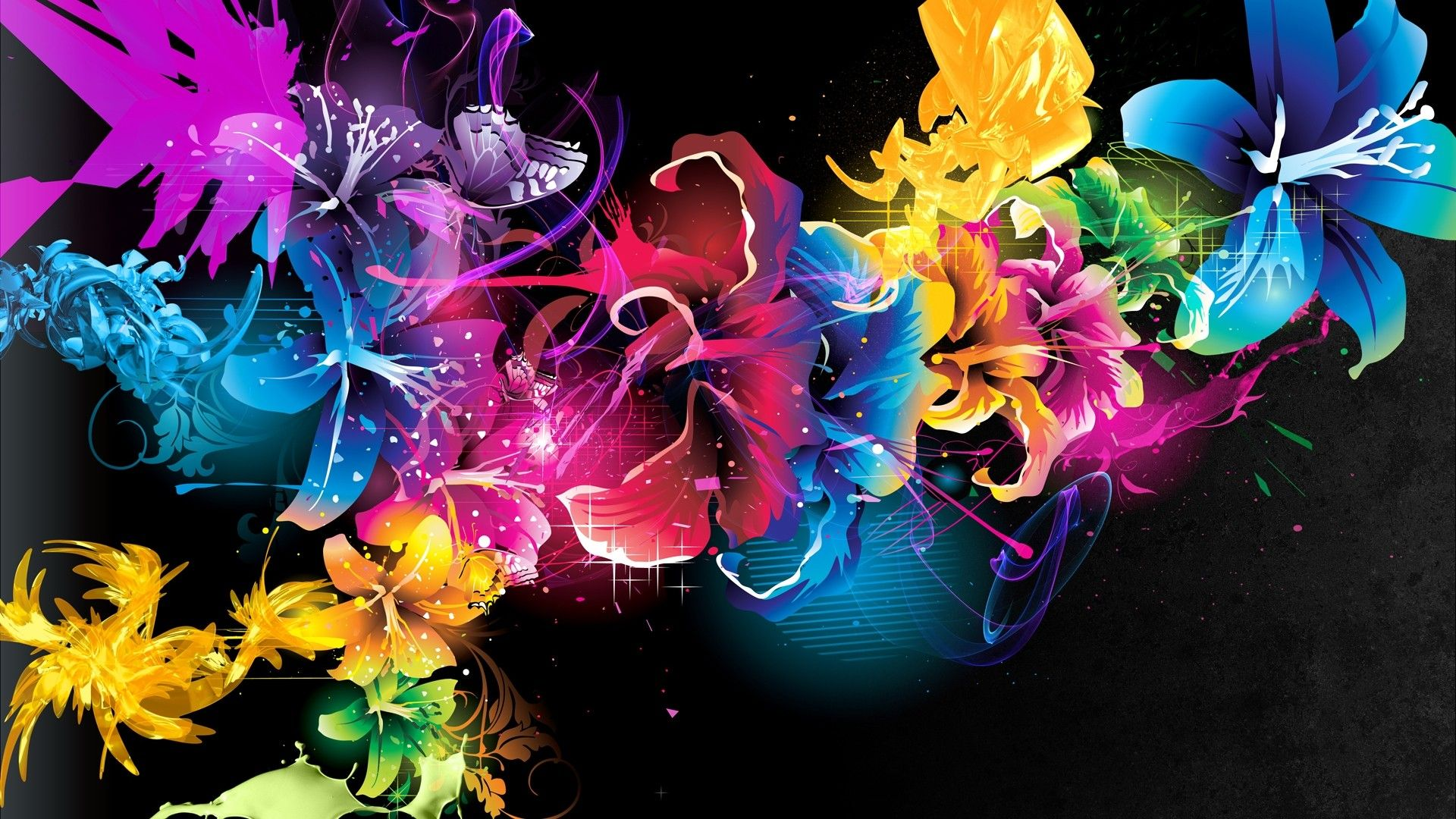Fractal Images Free Beautiful Fractal Flowers Wallpaper