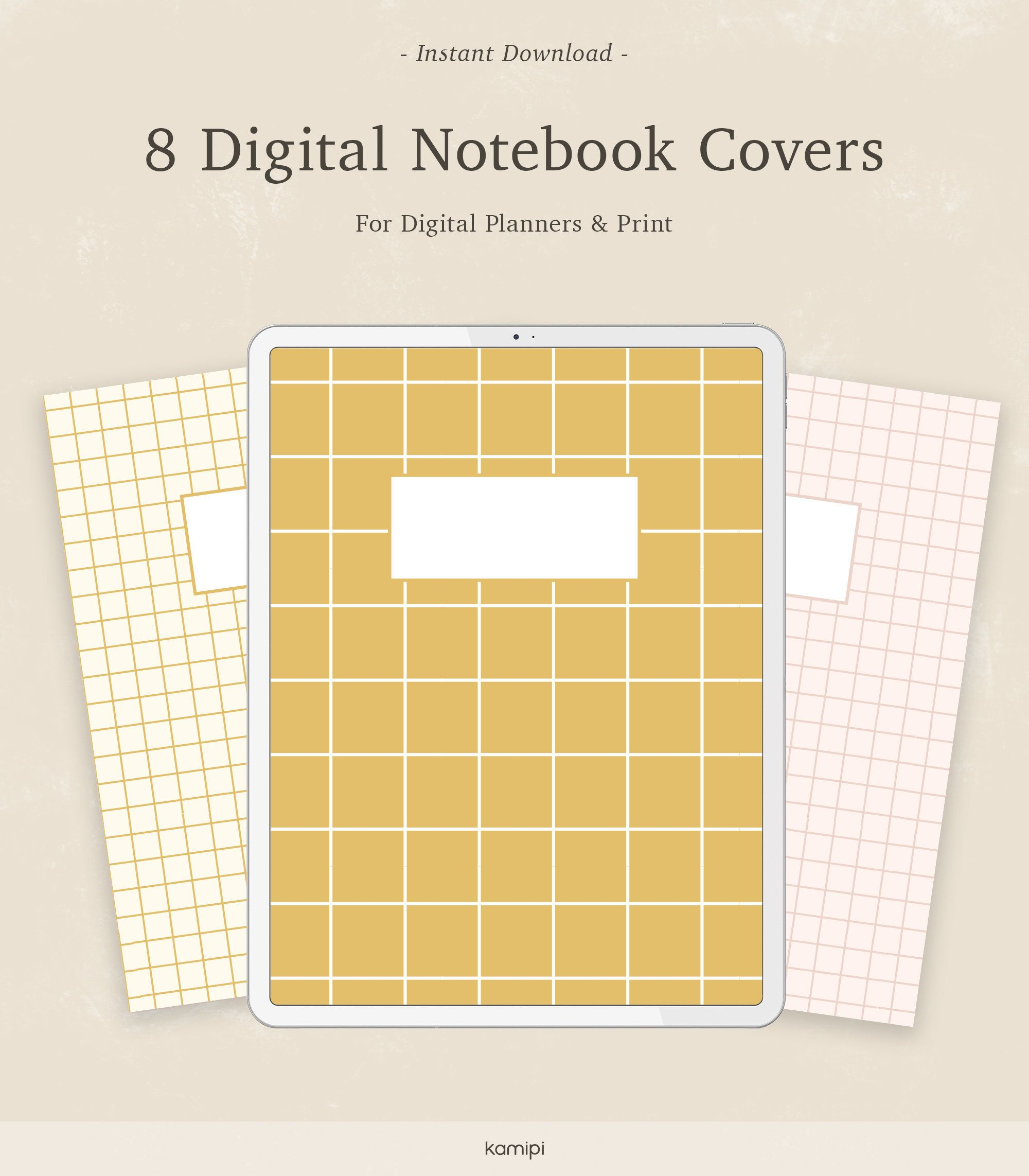 8 Digital Subject Notebook Cover Binder Covers Printable Etsy Binder Covers Printable Notebook Cover Binder Covers