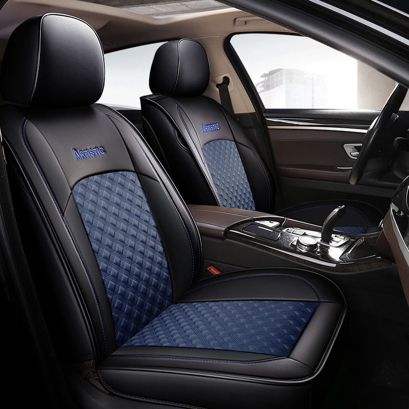 Car Seat Cover Vehicle Seats Leather Case For Lifan Breez 520 Solano 620 X50 X60 Mg Zs 3 6 Roewe 350 Jac J5 S3 S5 Zotye T600 Em 2020 P12