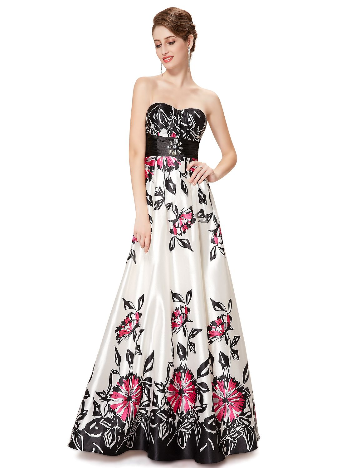 Exquisite strapless evening gown   Gorgeous Formal Dresses ...