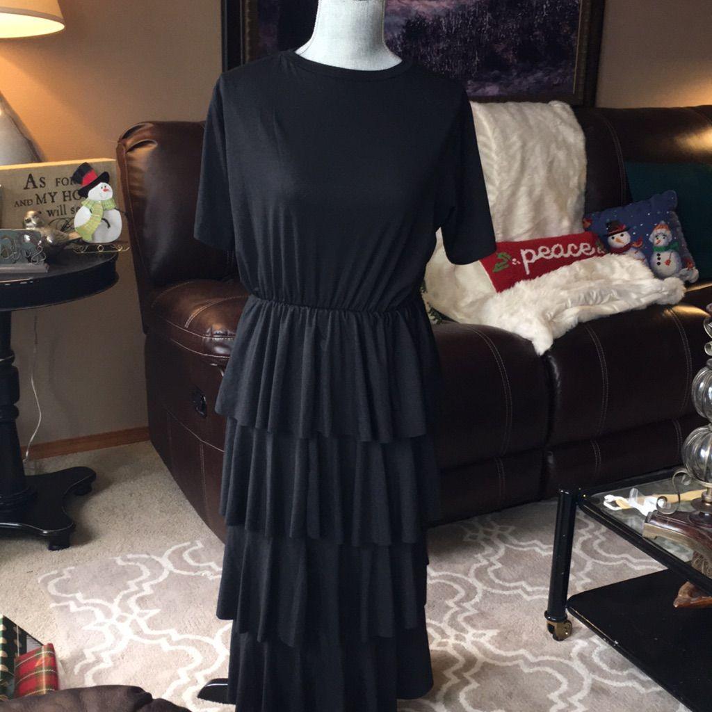 Black long dress size xl products