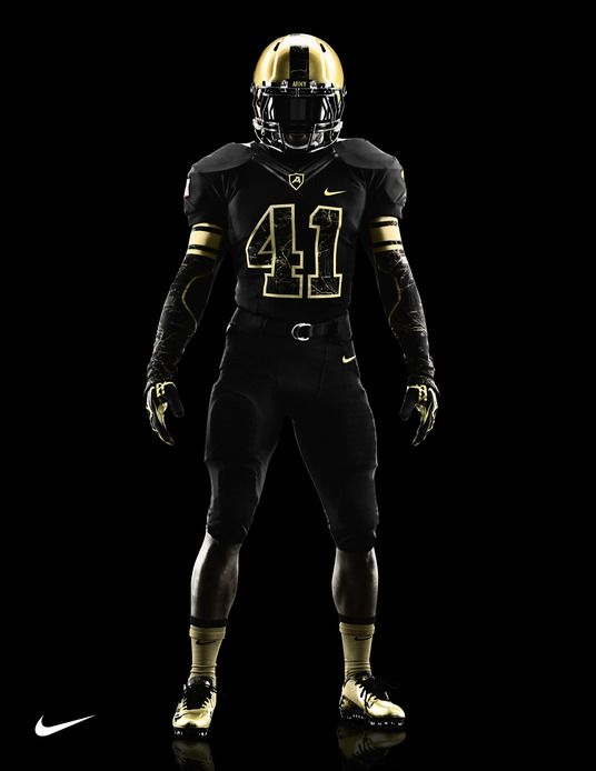3044af4f4 Army Black Knights uniform for 2012 Army-Navy Game via Nike