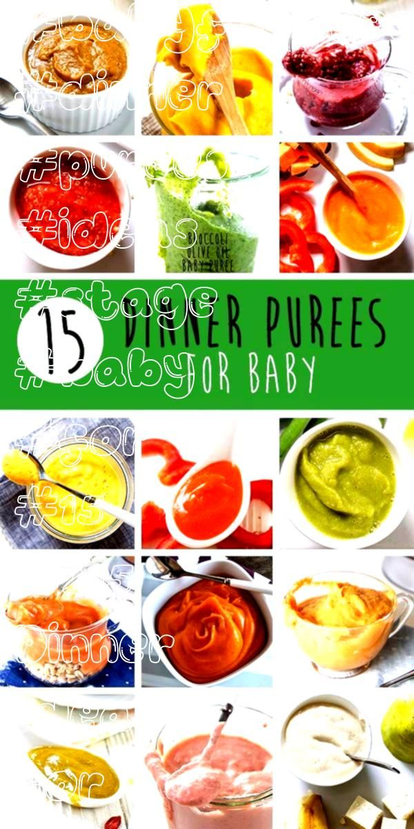 Dinner Ideas for Baby Stage 2 Purees  15 Dinner Ideas for Baby Stage 2 Purees   This teething biscuit recipe is allnatural easy to make  just 5 ingredients The only guide...