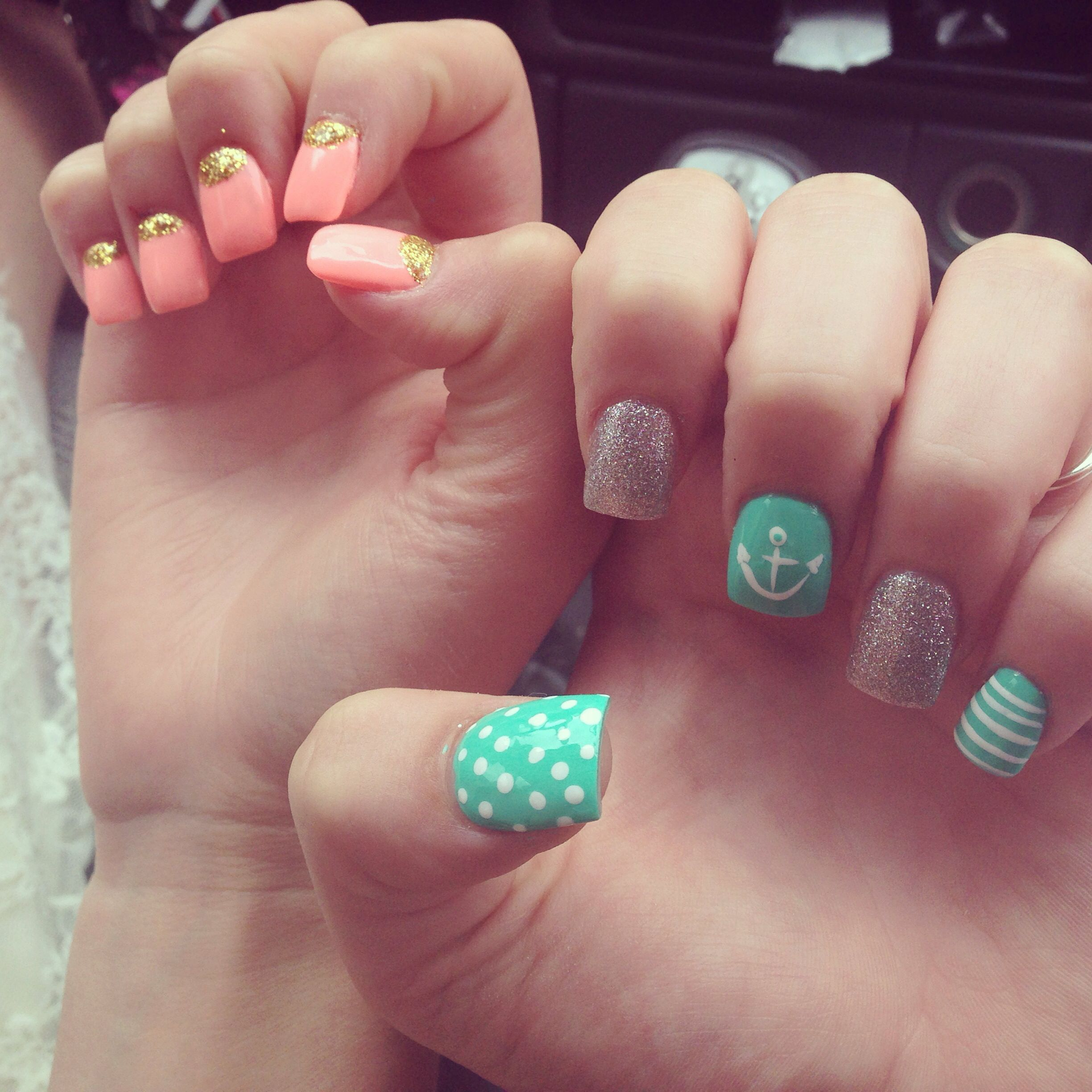 My friends and my nails.