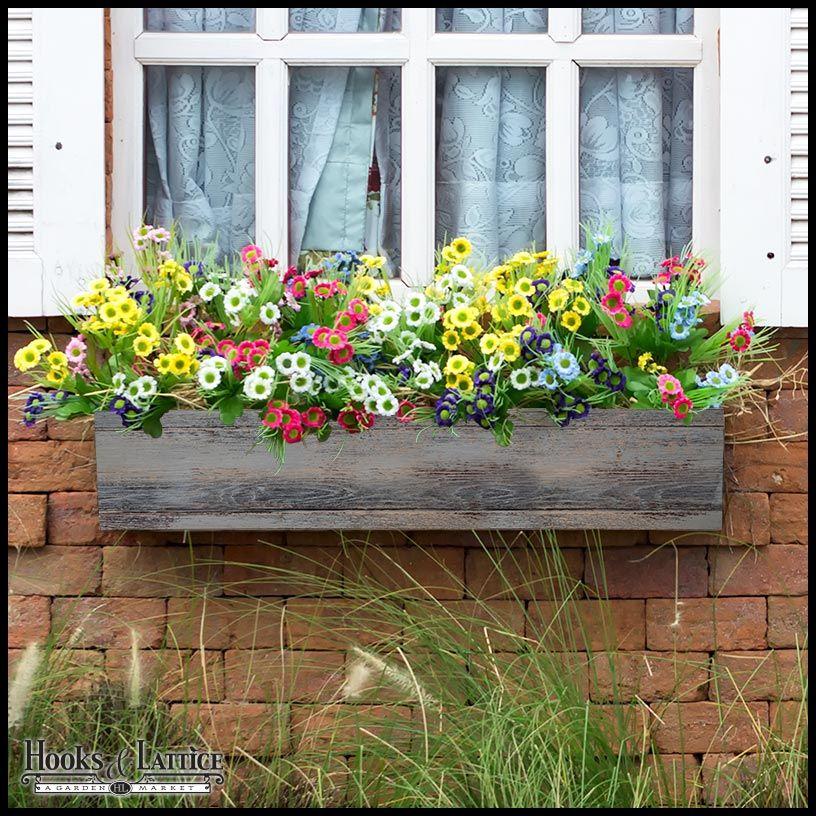 Modern Farmhouse Window Box Window Box Window Box Garden